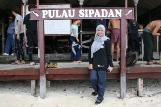 ye... i'm in Sipadan Island